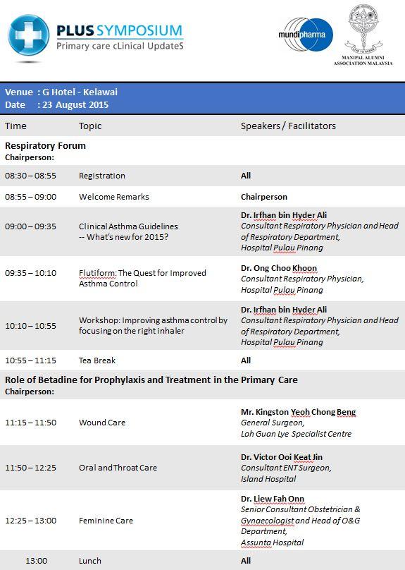 Plus Symposium 2015